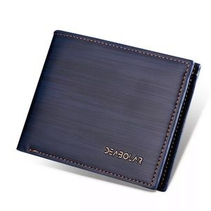 Blue Vegan Wallet
